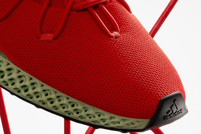 Adidas Y-3 Runner 4D Red 2.0 3
