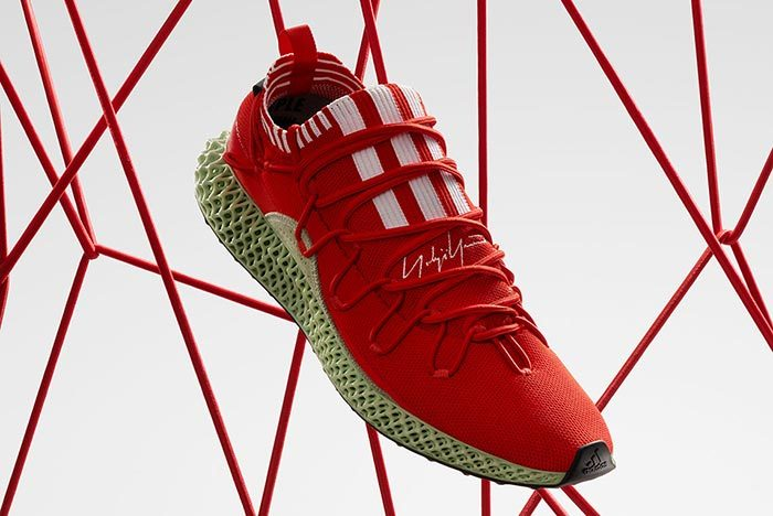 Adidas Y-3 Runner 4D Red 2.0 4