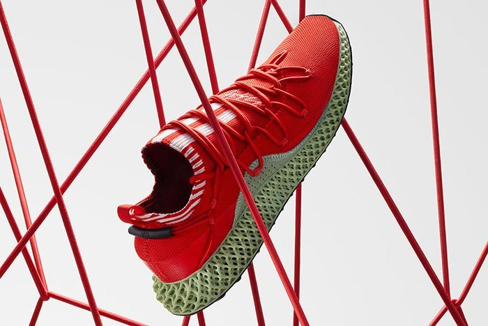 Adidas Y-3 Runner 4D Red 2.0 5