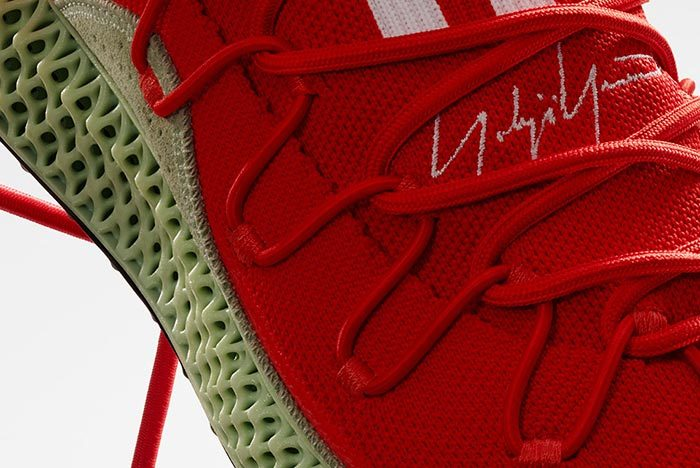 Adidas Y-3 Runner 4D Red 2.0 6