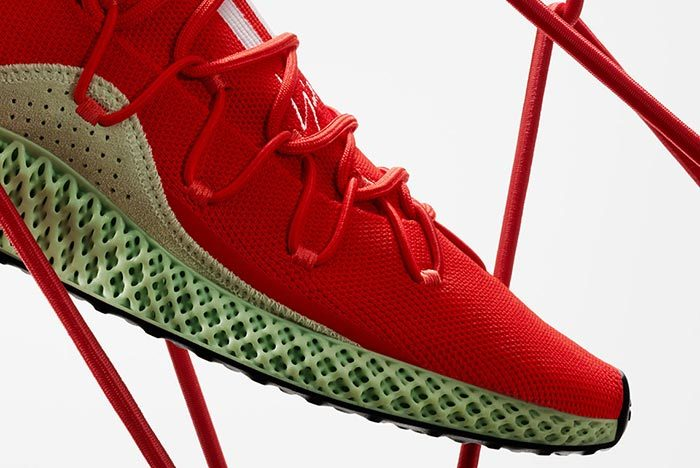 Adidas Y-3 Runner 4D Red 2.0 7