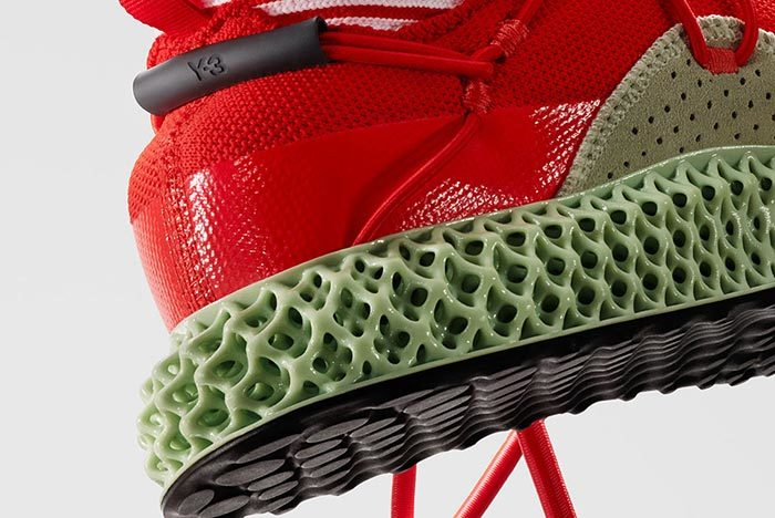 Adidas Y-3 Runner 4D Red 2.0 9