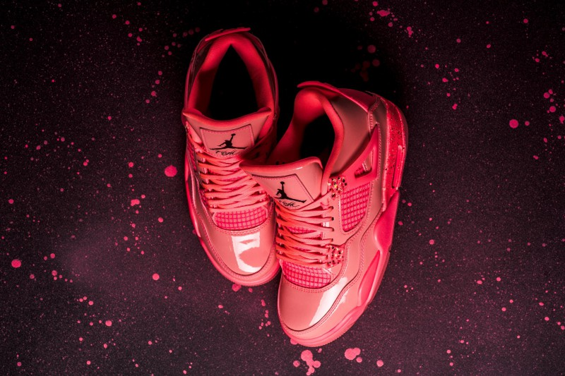"san francisco 3fefa 4a649 Air Jordan 4 Women s NRG ""Hot Punch"" 8"
