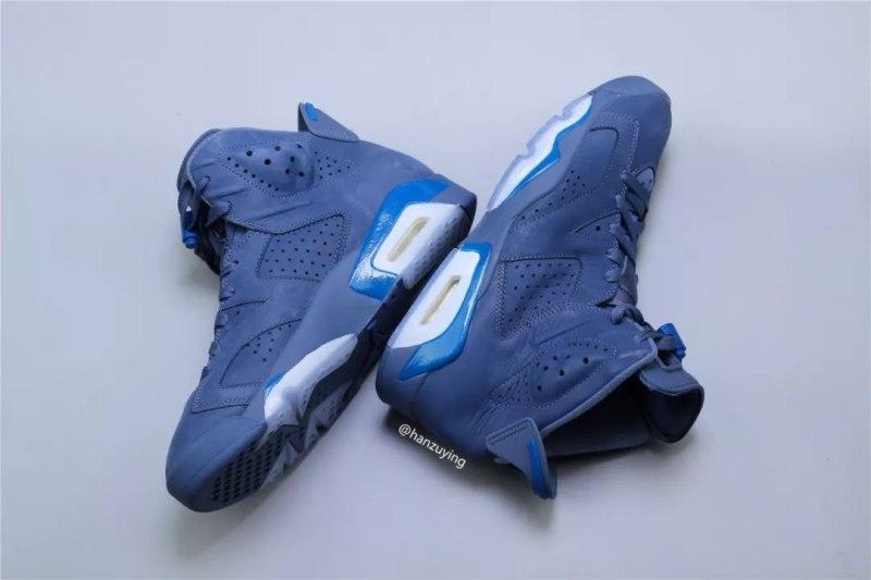 """Air Jordan 6 """"Diffused Blue"""" 7"""