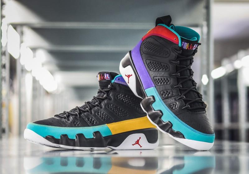 """Air Jordan 9 """"Dream It, Do It"""" 4"""