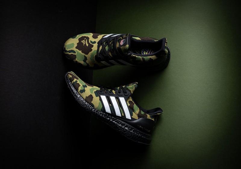 BAPE x Adidas Ultra Boost 3