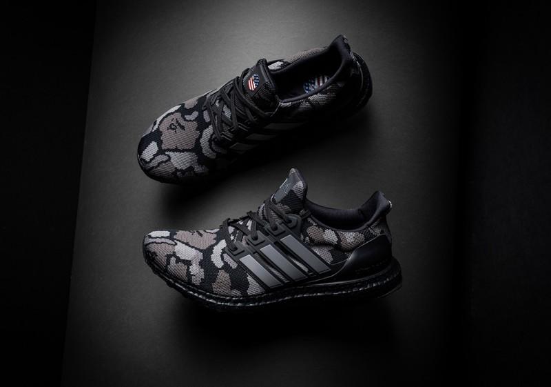 BAPE x Adidas Ultra Boost 5