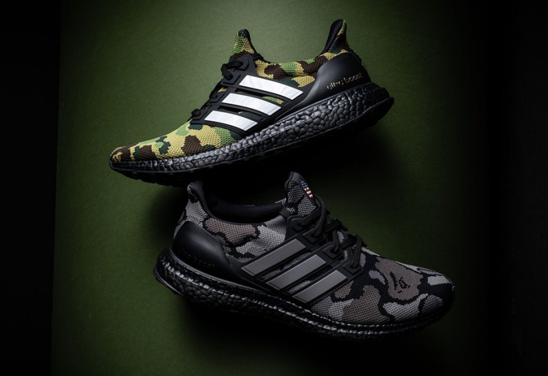 newest 64939 9bb69 BAPE x Adidas Ultra Boost Review