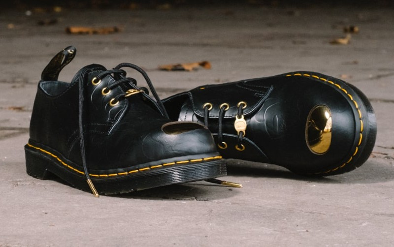 ca0581dfde7 BAPE x Dr. Martens ABC 3 Hole Steel Toe Cap Shoes Review