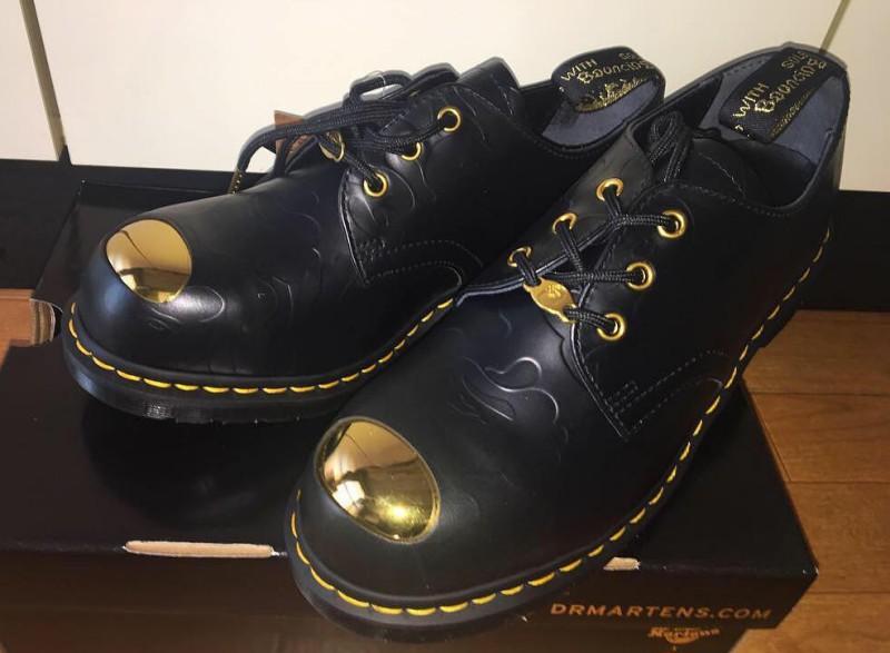 BAPE x Dr. Martens ABC 3 Hole Steel Toe Cap Shoes 7