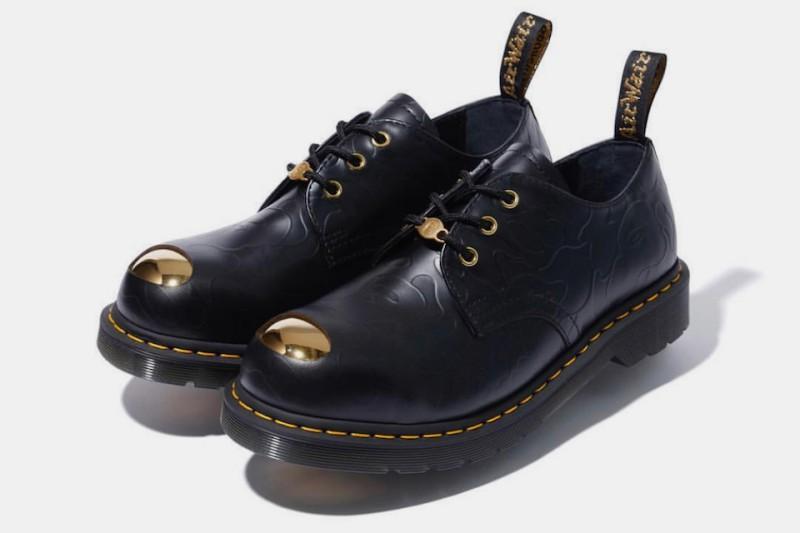 BAPE x Dr. Martens ABC 3 Hole Steel Toe Cap Shoes