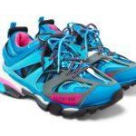 Balenciaga Blue:Pink TRACK Sneaker 1