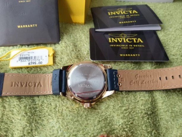 Invicta Pro Diver Men's 22076 Watch - Back Side