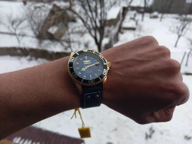 Invicta Pro Diver Men's 22076 Watch - Worn on Wrist