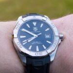 Buy TAG Heuer Aquaracer Men's Calibre 5 WAY211A.BA0928 Watch + Review - Featured Image