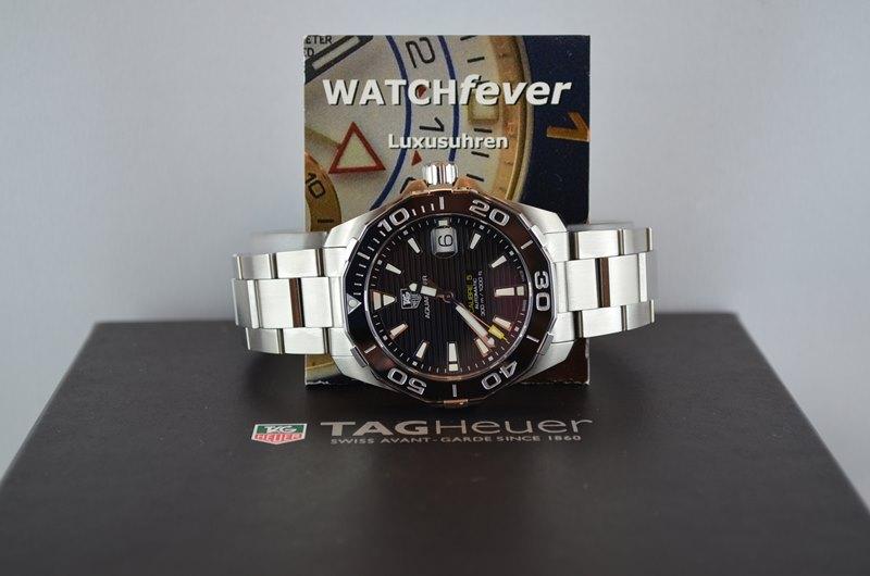 TAG Heuer Aquaracer Men's Calibre 5 WAY211A.BA0928 Watch