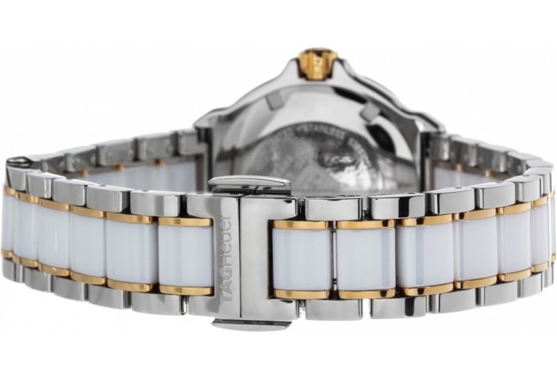 TAG Heuer Formula 1 Women's WAH1221.BB0865 Watch + Review - Bracelet and Deployment Clasp
