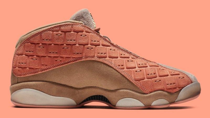 "CLOT x Air Jordan 13 Low ""Terracotta"" 1"
