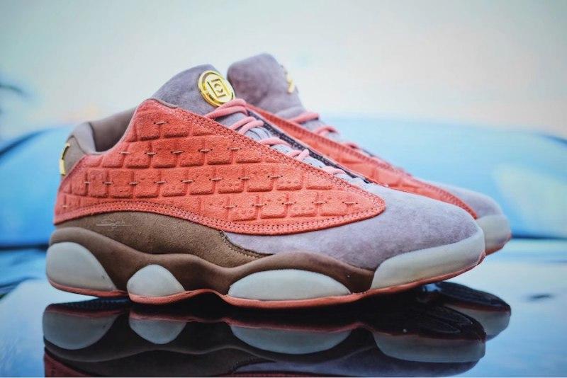 "CLOT x Air Jordan 13 Low ""Terracotta"" 10"