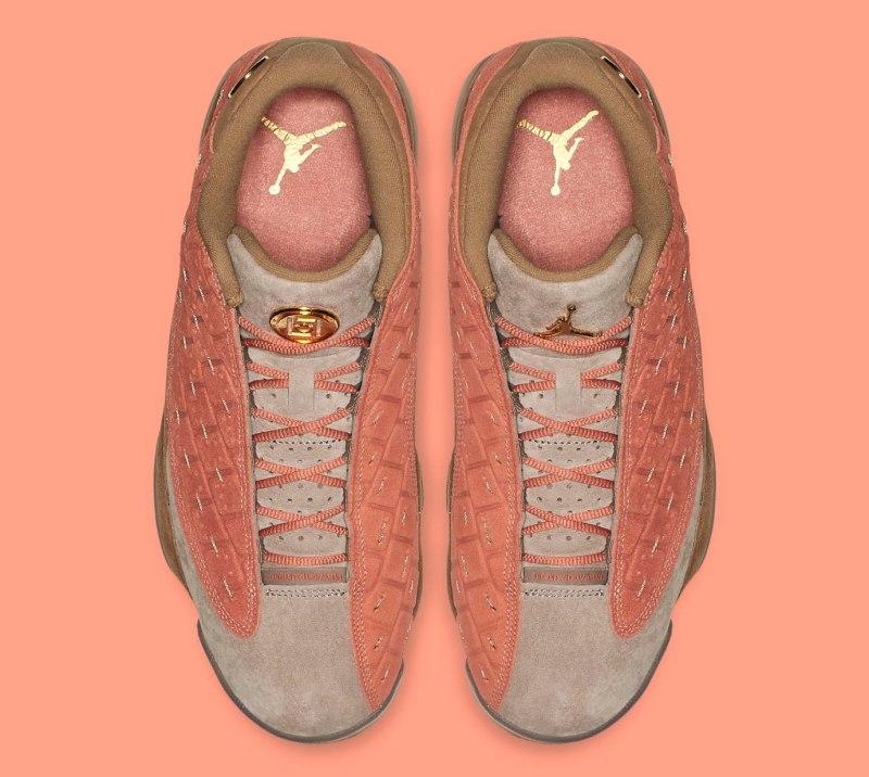 "CLOT x Air Jordan 13 Low ""Terracotta"" 3"
