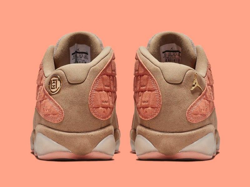 "CLOT x Air Jordan 13 Low ""Terracotta"" 4"