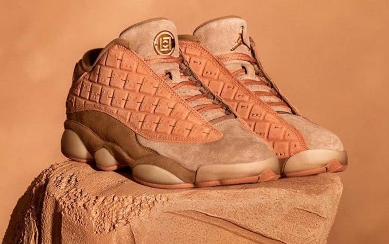 "CLOT x Air Jordan 13 Low ""Terracotta"" 5"