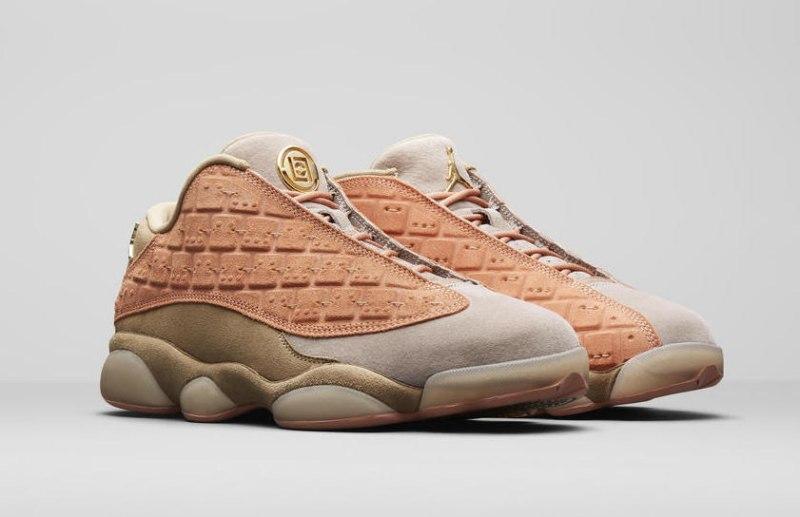 "CLOT x Air Jordan 13 Low ""Terracotta"" 6"