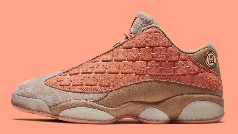 "CLOT x Air Jordan 13 Low ""Terracotta"""