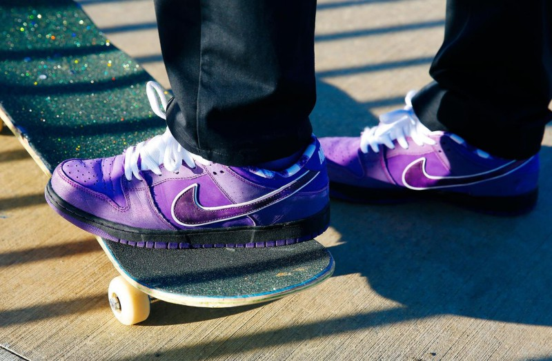 "Concepts x Nike SB Dunk Low ""Purple Lobster"" 10"