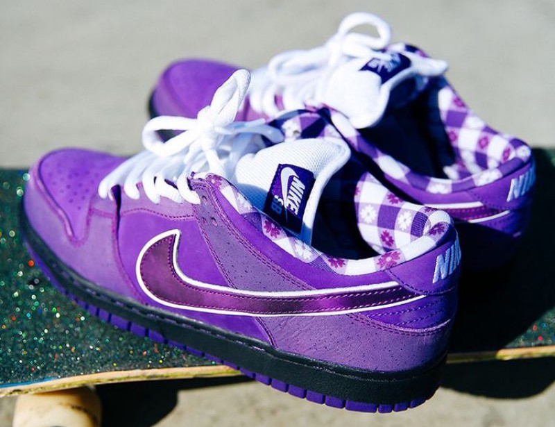 "Concepts x Nike SB Dunk Low ""Purple Lobster"" 7"