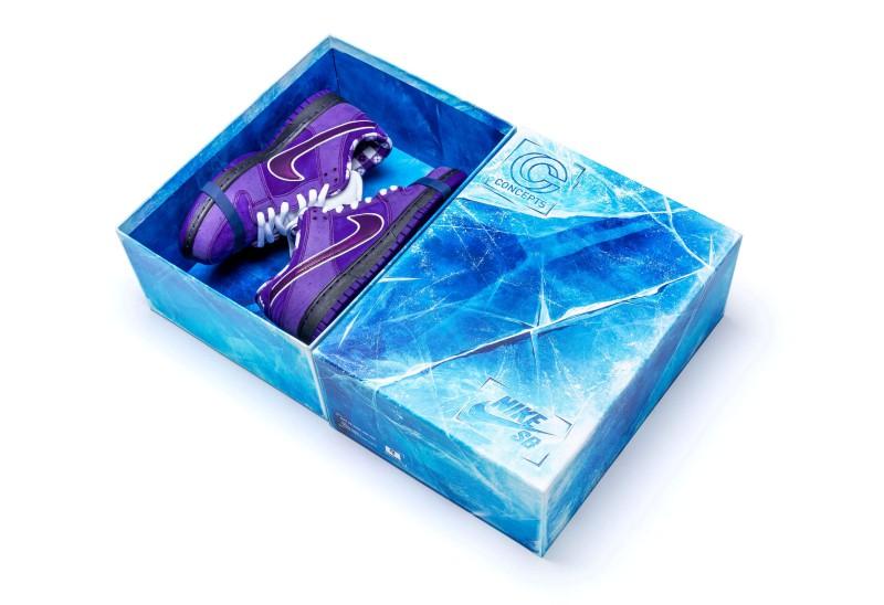 "Concepts x Nike SB Dunk Low ""Purple Lobster"" 9"