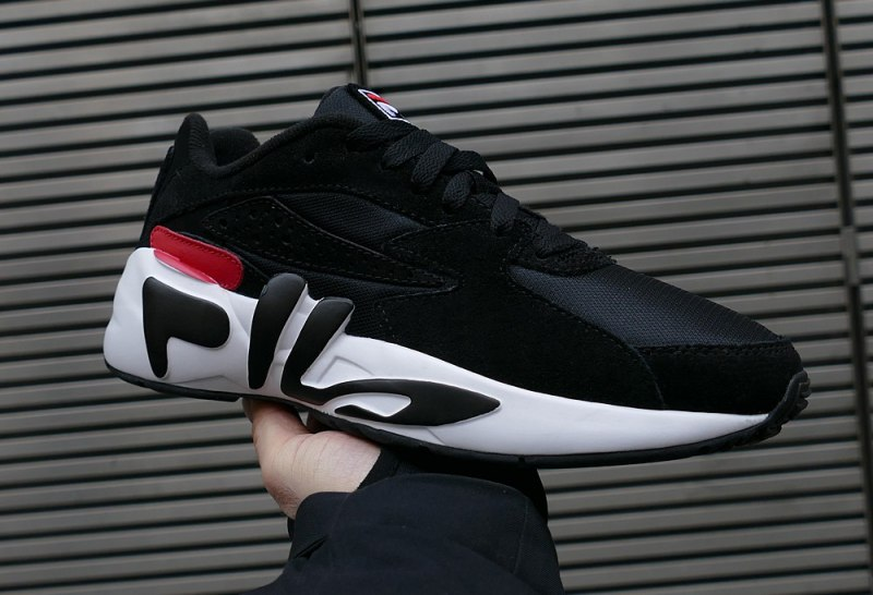 "Fila Mindblower ""Black/White/Red"" Review"