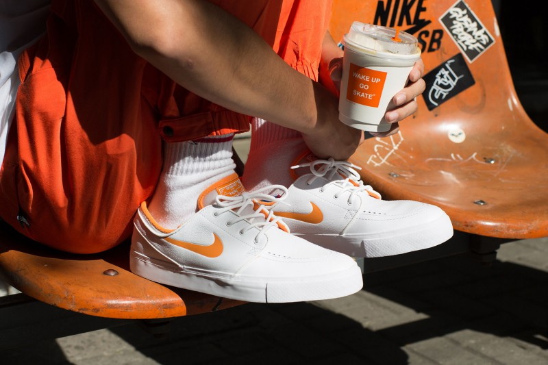 "the best attitude d1996 7497a FLY x Nike SB Janoski ""Wake Up Go Skate"" 5"