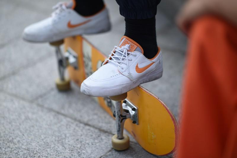 "FLY x Nike SB Janoski ""Wake Up Go Skate"" 8"