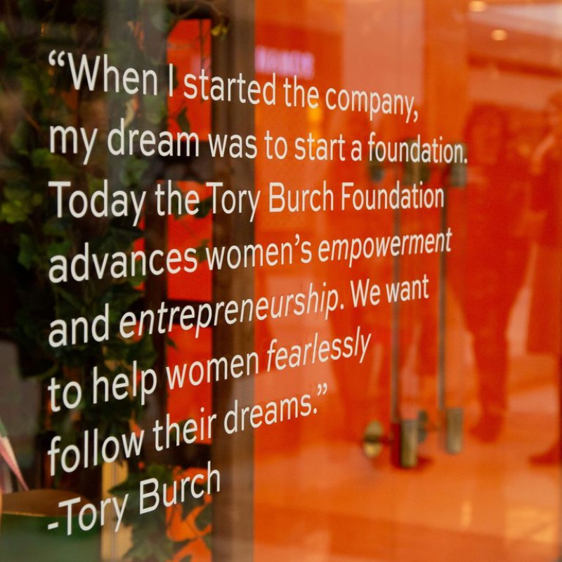 For International Women's Day, Tory Burch Foundation Commits to Intensifying Programs for Lady Entrepreneurs 2