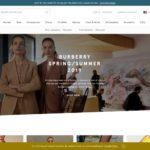 Harrods home page screenshot on March 27, 2019