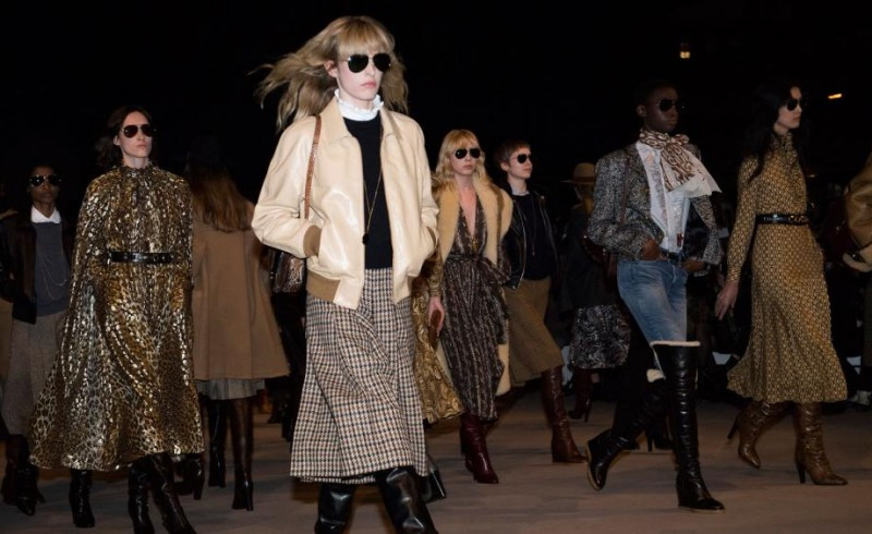 Hedi Slimane Breaks Expectations for Celine's Fall 2019 Collection 4