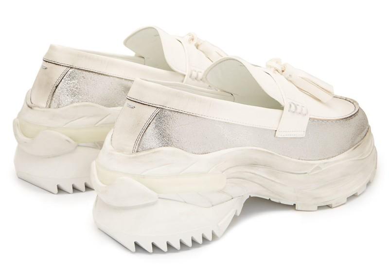Maison Margiela Ridged Sole Loafers 6