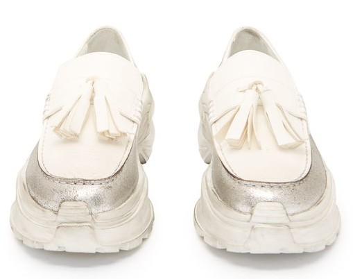 Maison Margiela Ridged Sole Loafers 7