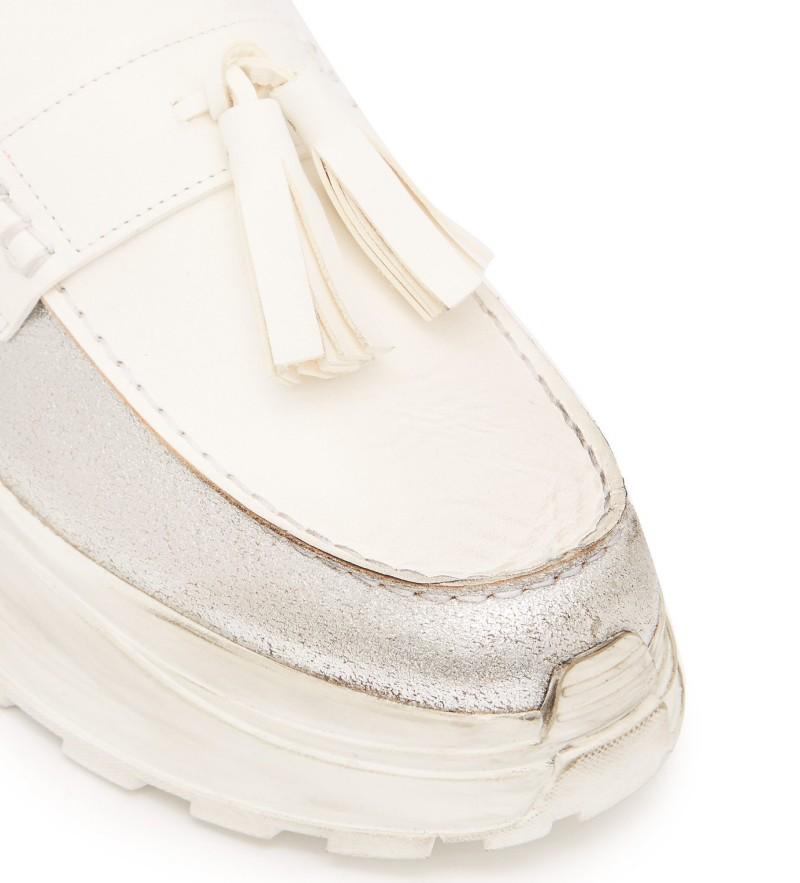 Maison Margiela Ridged Sole Loafers 8