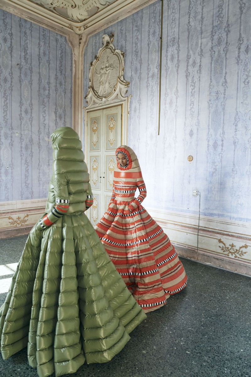 Moncler is All About Puffer Gowns This Time Around, Thanks to Pierpaolo Piccioli 4