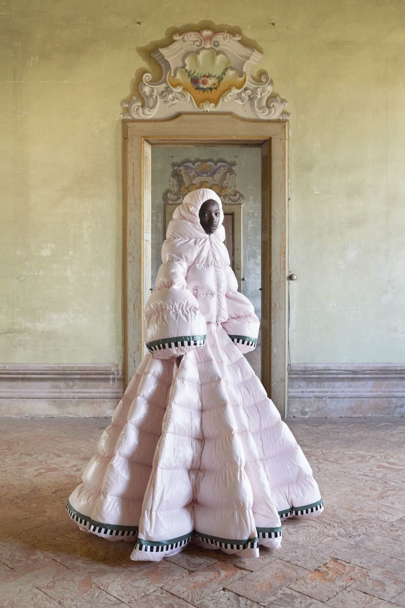 Moncler is All About Puffer Gowns This Time Around, Thanks to Pierpaolo Piccioli 9