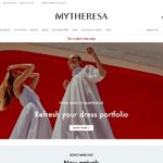 Mytheresa home page screenshot on March 26, 2019