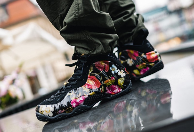 "5dcf750ba Nike Air Foamposite One ""Floral"" Review"