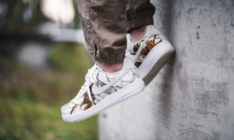"""Nike Air Force 1 Low """"Realtree Camo"""" 6"""
