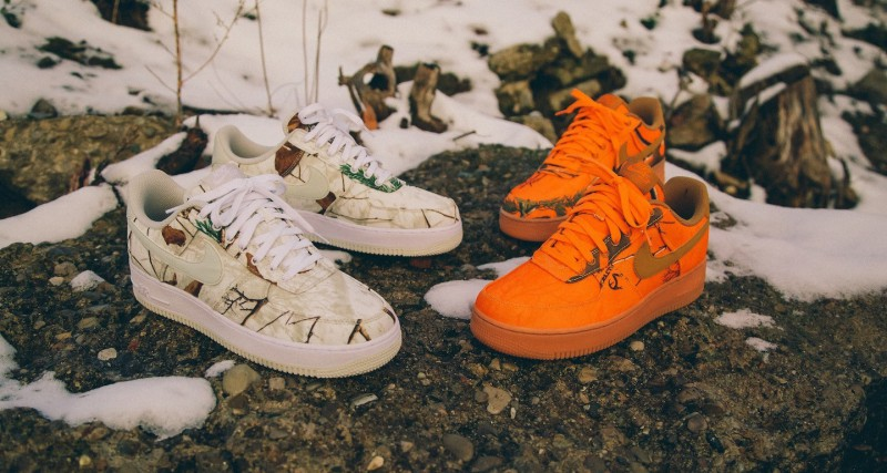 """Nike Air Force 1 Low """"Realtree Camo"""" 7"""