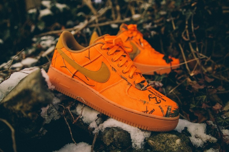 """Nike Air Force 1 Low """"Realtree Camo"""" 8"""