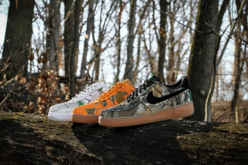 "super popular c136f fbbea Nike Air Force 1 Low ""Realtree Camo"""