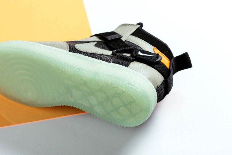 """Nike Air Force 1 Utility Mid Strap """"Spruce Fog"""" 3"""