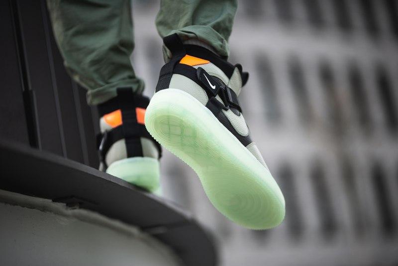 """Nike Air Force 1 Utility Mid Strap """"Spruce Fog"""" 9"""
